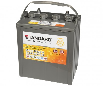 Μπαταρία STANDARD RECHARGE βαθείας εκφόρτισης υγρού τύπου FLOODED082400 8V 240C20 220C10 190C5