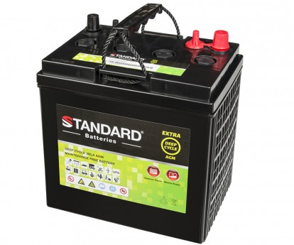 Μπαταρία STANDARD RECHARGE βαθείας εκφόρτισης VRLA AGM081700 8V 170.0Ah(C20) 160.0Ah(C10) 145Ah(C5)