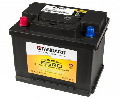 Μπαταρία αγροτικού & δομικού οχήματος και μηχανήματος STANDARD SMF56065AGRO 12V 60Ah 525CCA(SAE)
