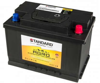 Μπαταρία αγροτικού & δομικού οχήματος και μηχανήματος STANDARD SMF57520AGRO 12V 75Ah 680CCA(SAE)