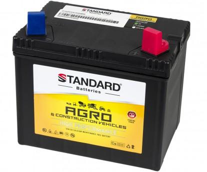 Μπαταρία αγροτικού & δομικού οχήματος και μηχανήματος STANDARD SMF53015AGRO 12V 30Ah 260CCA(SAE)