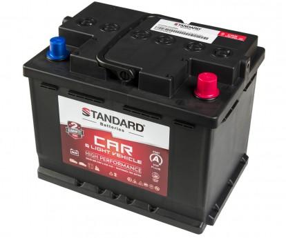 Μπαταρία αυτοκινήτου STANDARD AGM Start&Stop Plus AGM62L2CARPR 12V 62Ah 640CCA(SAE)
