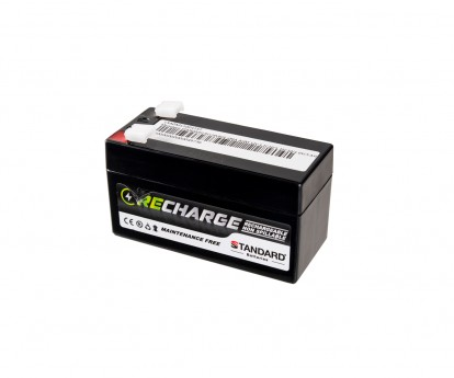 Μπαταρία STANDARD RECHARGE βαθείας εκφόρτισης VRLA AGM120012 12V 1.2C20/1.12C10/1.01C5 AH