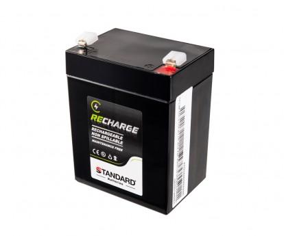 Μπαταρία STANDARD RECHARGE βαθείας εκφόρτισης VRLA AGM120029 12V 2.9C20/2.7C10/2.44C5 AH