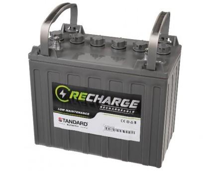 Μπαταρία STANDARD RECHARGE βαθείας εκφόρτισης υγρού τύπου FLOODED121500 12V 150C20/138C10/128C5 AH