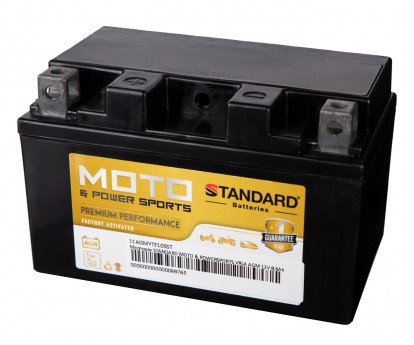 Μπαταρία STANDARD MOTO & POWERSPORTS VRLA AGMYTZ10S 12V 8,6Ah 190A(CCA)