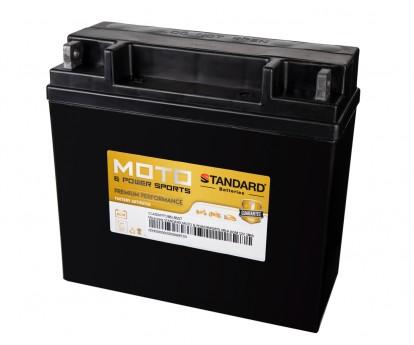 Μπαταρία STANDARD MOTO & POWERSPORTS VRLA AGMYT19BLBS 12V 18Ah 275A(CCA)