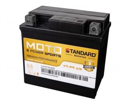 Μπαταρία STANDARD MOTO & POWERSPORTS VRLA AGMYTX5LBS 12V 4Ah 70A(CCA)