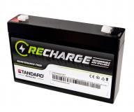 Μπαταρία STANDARD RECHARGE βαθείας εκφόρτισης VRLA AGM060070 6V 7.0C20/6.51C10/5.95C5 AH