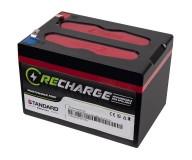 Μπαταρία STANDARD RECHARGE βαθείας εκφόρτισης VRLA AGMGEL12015 12V 15.0C20/14.3C10/13.7C5 AH
