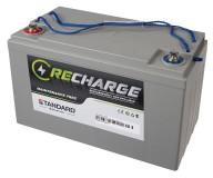 Μπαταρία STANDARD RECHARGE βαθείας εκφόρτισης VRLA AGMGEL12125 12V 125.0C20/113.0C10/106.0C5 AH